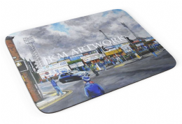 saltergate going to the match Premium Quality Mouse mat (2)